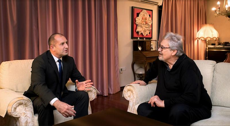 Държавният глава Румен Радев се срещна с проф. Стефан Данаилов,