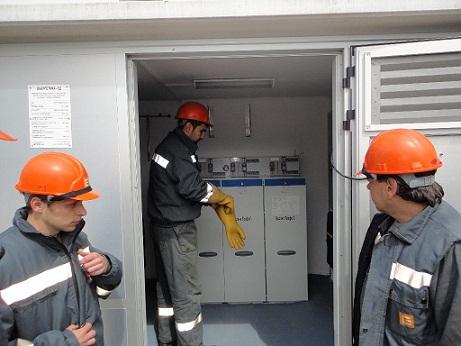 Инцидент със съоръжение 110 kV, собственост на държавния Електроенергиен системен