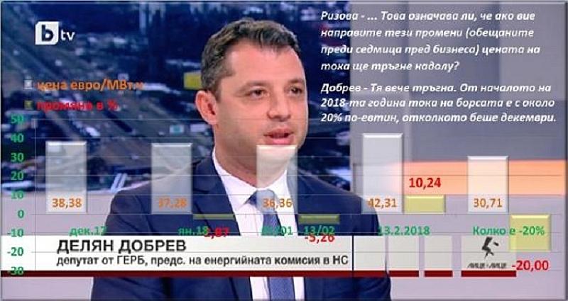 Снощи по бТВ пак беше инсталиран депутата от Хасково, дето