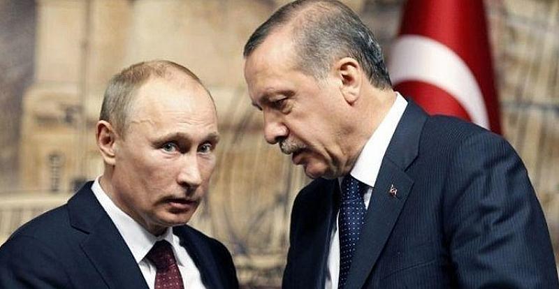 Снимка: Ердоган надхитри Путин с Турски поток