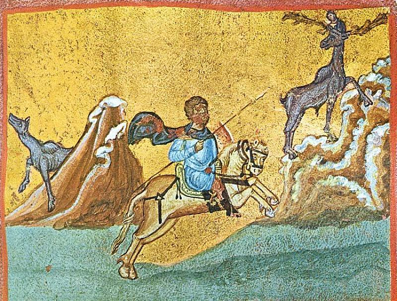 Днес почитаме св. Евстатий Плакида и семейството му. Имен ден