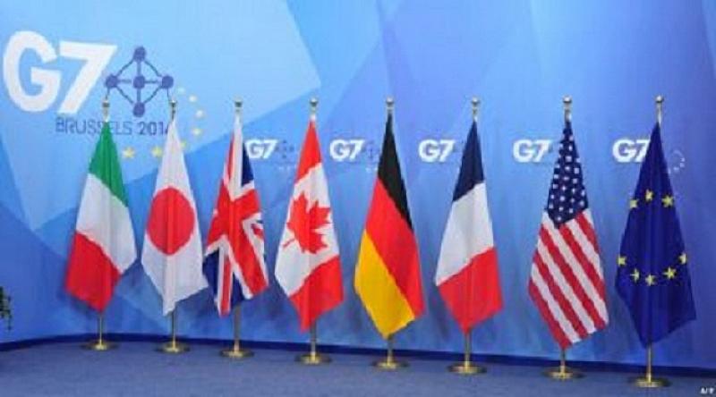 Външните министри на Г-7 - седемте най-развити индустриални държави, единодушно