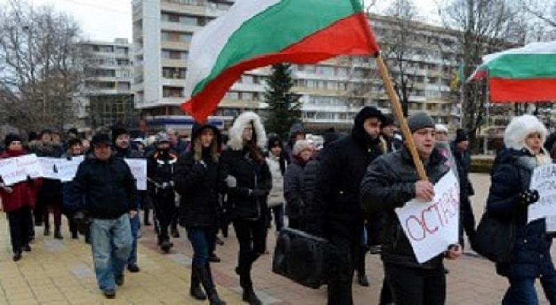 """Жители на столичния квартал """"Красно село"""" на протест срещу строежа"""