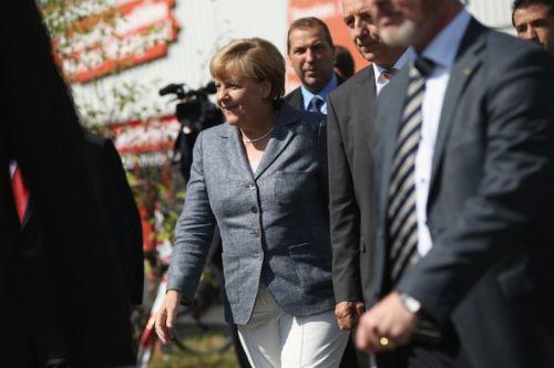 Немският канцлер Ангела Меркел обяви, че е оптимист за преговорите