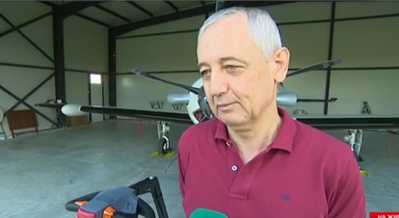 Мирослав Хинков, собственик и пилот на частния самолет, излетял непроверен