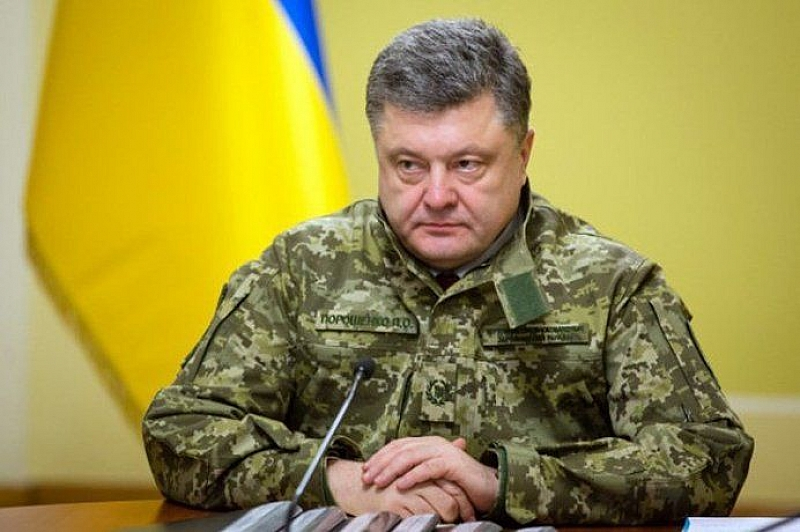 Украинският президент Петро Порошенко обвини руския си колега Владимир Путин,