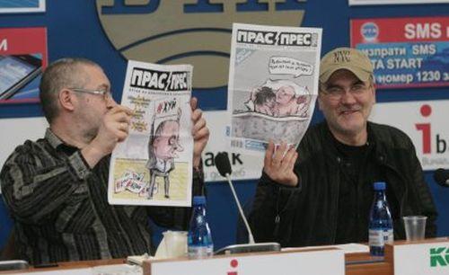 Карикатуристите Чавдар Николов и Чавдар Георгиев виждат опити да се