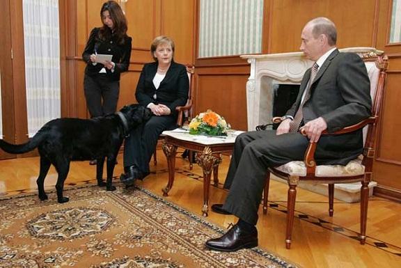 Руския президент Владимир Путин и германския канцлер Ангела Меркел разговаряха