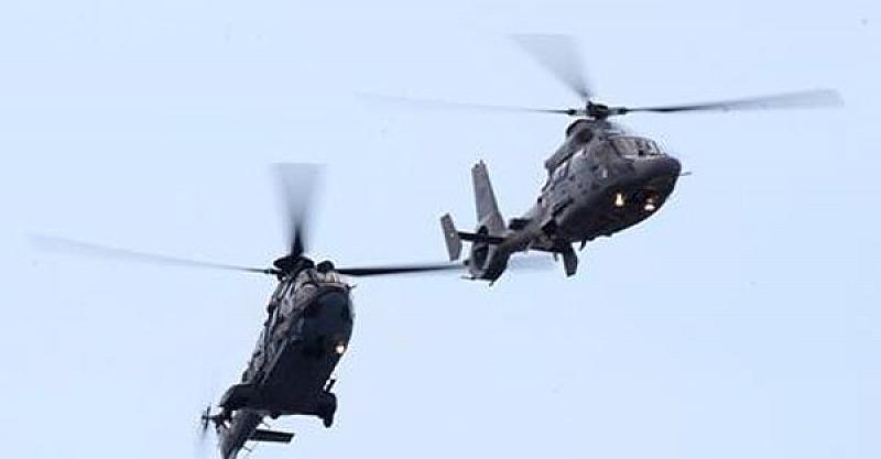 Вертолети и самолети от ВВС ще изпълняват полети на малка