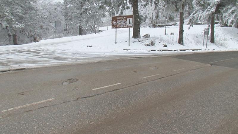 Първи сняг образува по-съществена снежна покривка в голяма част от