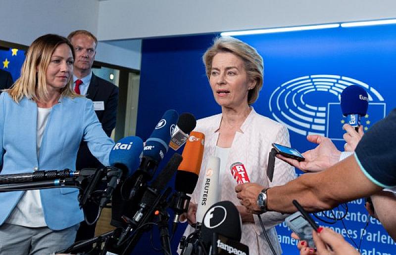 Урсула фон дер Лайен е новият председател на Европейската комисия.