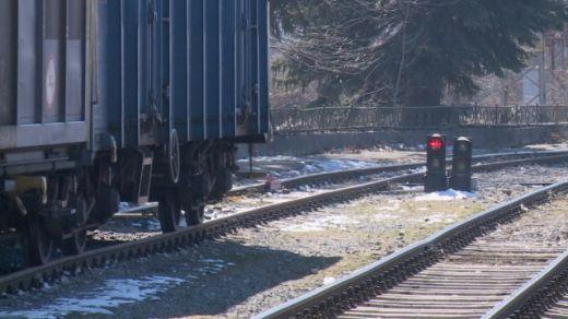 Снимка: Товарен влак се запали между Белово и Костенец