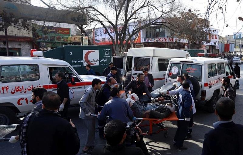 Самоубийствен атентат беше извършен днес в афганистанската столица Кабул –