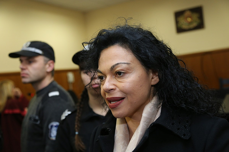 Специализираната прокуратура е променила мярката за неотклонение на Евгения Банева