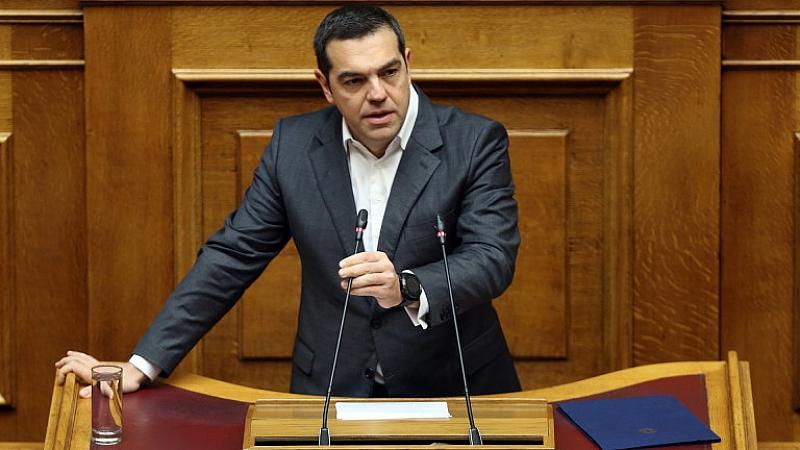 Снимка: Ципрас спечели вота на доверие с три гласа разлика