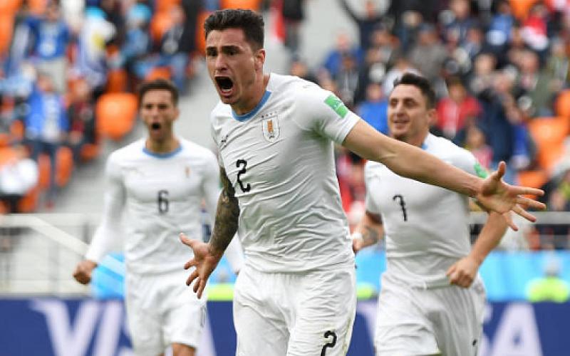 Уругвай се наложи драматично над Египет с 1:0 във втория
