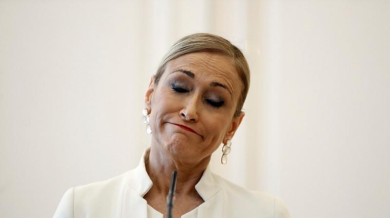 Регионалният премиер на испанската автономна област Мадрид Кристина Сифуентес подаде
