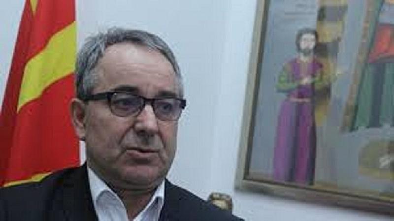 Председателят на Българския културен клуб - Скопие (БККС) Лазар Младенов