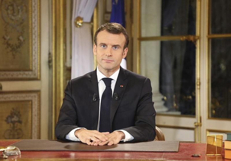 Френският президент Еманюел Макрон обеща повишаване на минималната работна заплата