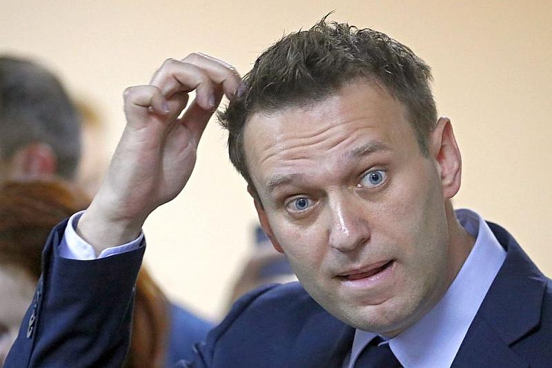 Руският опозиционен политик Алексей Навални обяви, че е бил задържан
