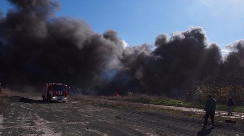 От понеделник бушуват пожари в Хасковско и Пловдивско, като гасенето