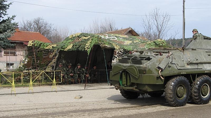 Нова система за управление на артилерийския огън бе тествана за