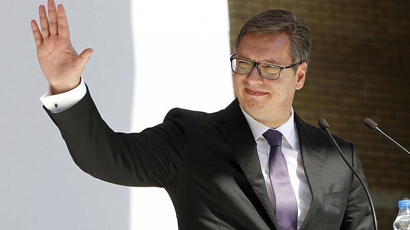 Сръбският президент Александър Вучич пристигна на посещение в Китай, където