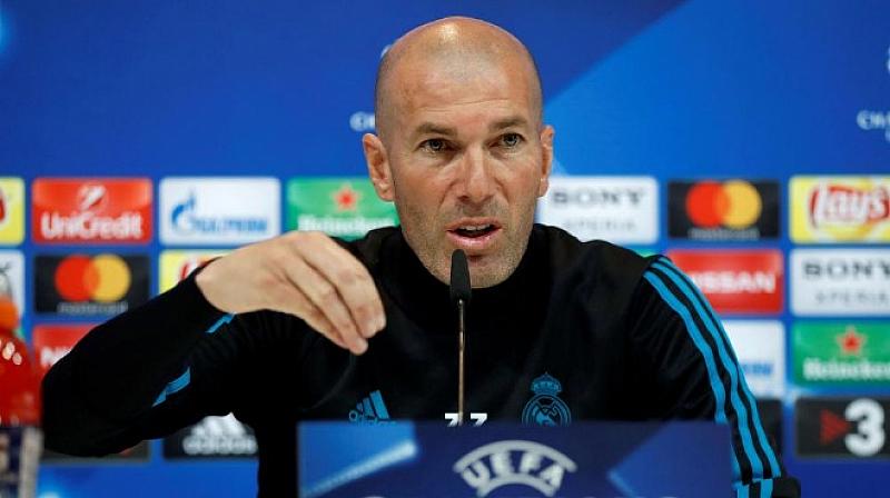 Треньорът на Реал Мадрид Зинедин Зидан бе категоричен, че той