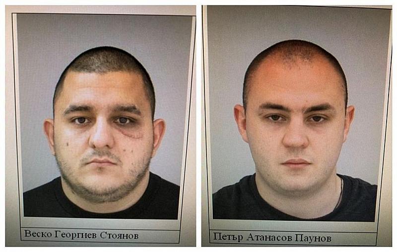 """Издирваните за погрома в бар """"Бесо"""" Веско Стоянов и Петър"""