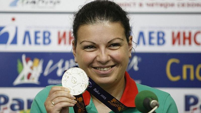 Българската състезателка по спортна стрелба Антоанета Бонева спечели втори бронзов
