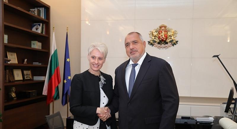Министър-председателят Бойко Борисов се срещна с посланика на Великобритания Ема