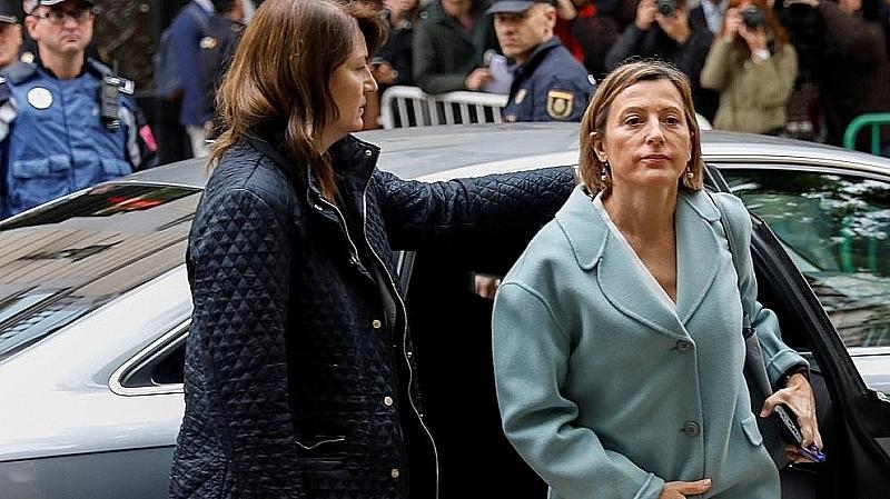 Защитата на председателката на каталунския парламент Карме Форкадел внесе гаранция