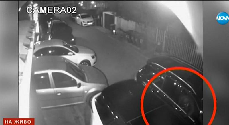 Снимка: Крадци задигат безпрепятствено лимузини пред столичен хотел