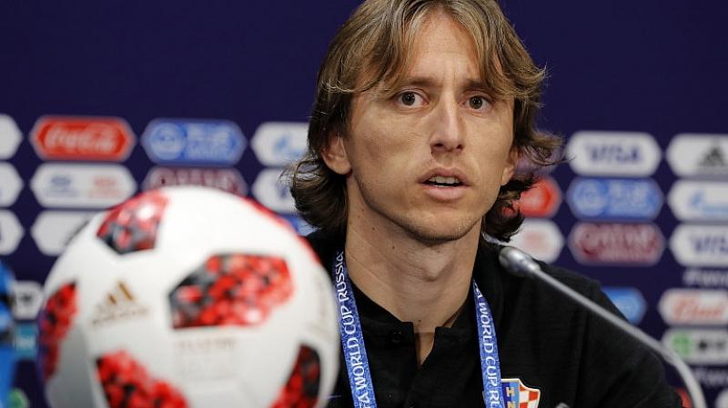 Хърватският национал Лука Модрич беше избран за най-добър футболист на
