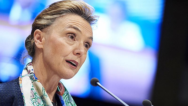 Министърката на външните работи и европейските въпроси на Хърватия беше