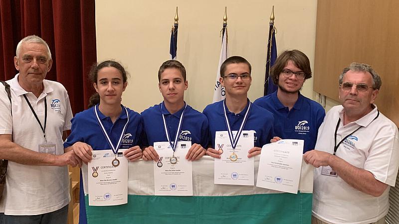 Злато, сребро и бронз за Националния ни отбор по информатика