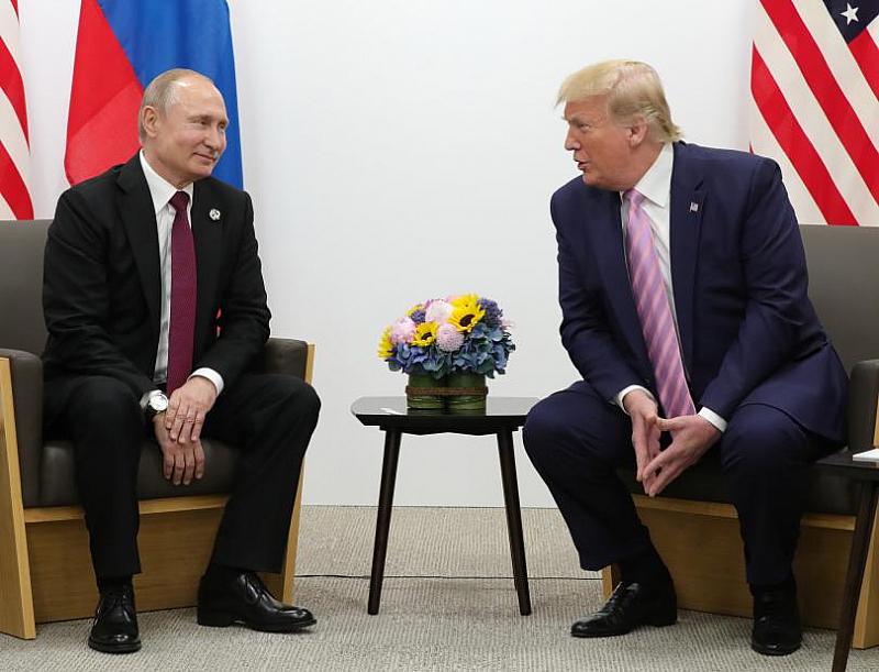 Срещата на лидерите на Русия и САЩ, Владимир Путин и