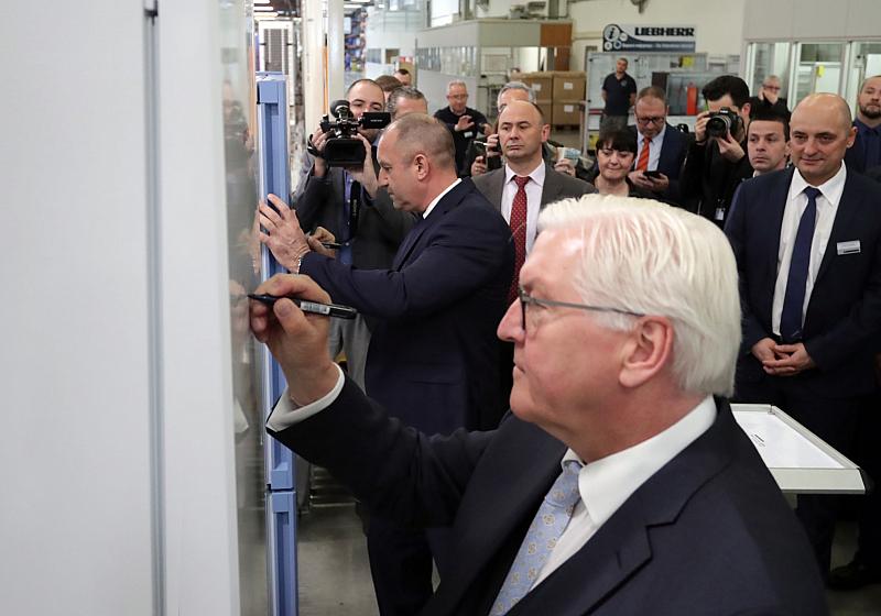 """""""Моделът на българо-германско икономическо сътрудничество е успешен и България има"""