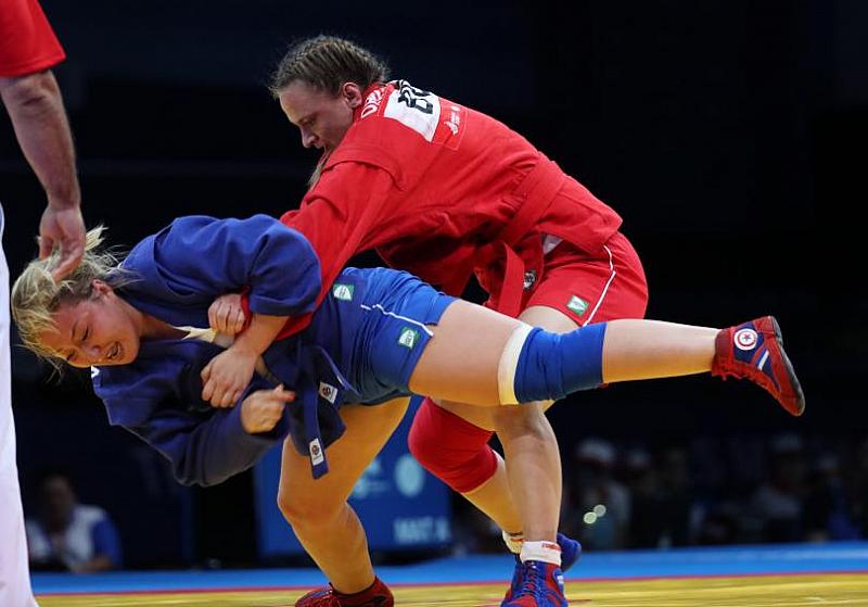 Самбистката Мария Оряшкова спечели първия златен медал за България на