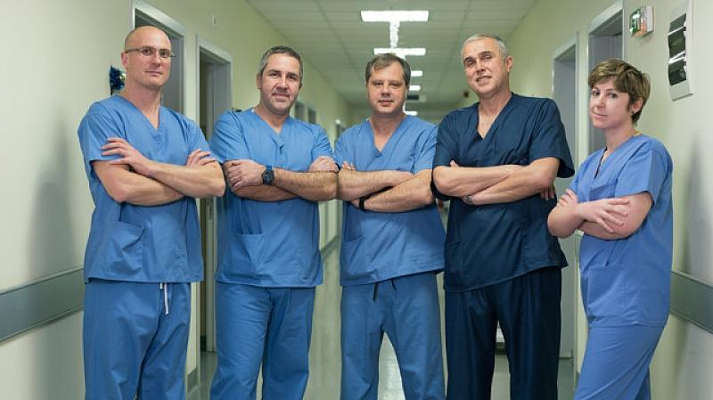 Медицински специалисти от Военномедицинска академия извършиха поредна чернодробна трансплантация, съобщиха