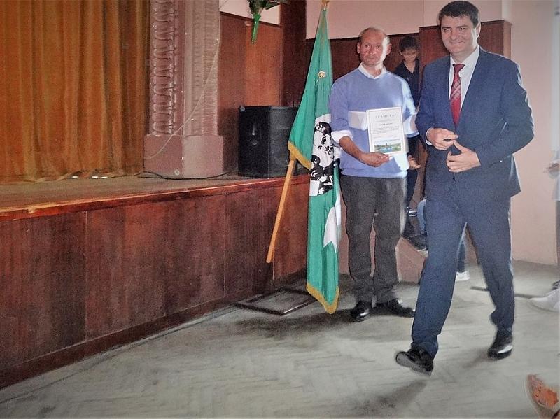 Общинският съветник от БСП Борис Цветков присъства на тържеството по