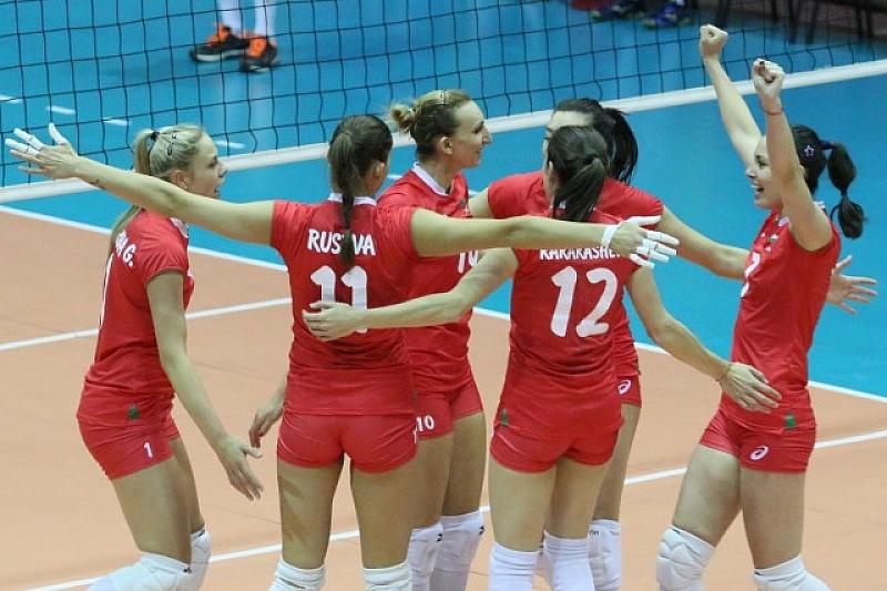 България постигна трети успех в Златната европейска лига по волейбол