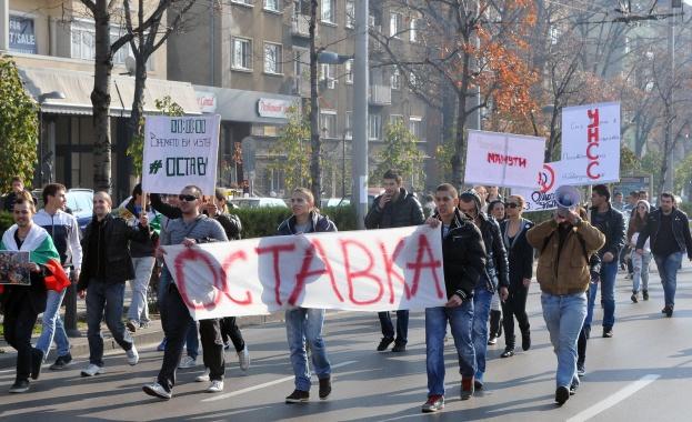 Един от основните организатори на протестите срещу високите цени на