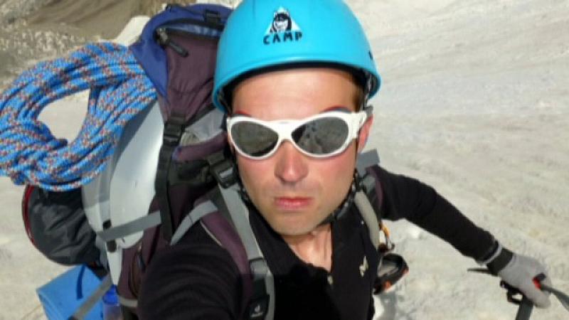 Въпреки че не е минал курс за алпинист, Иван Томов