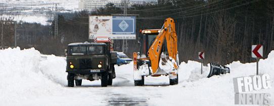 Фрог видя: Няма нито един снегорин по заснежения път София-Самоков