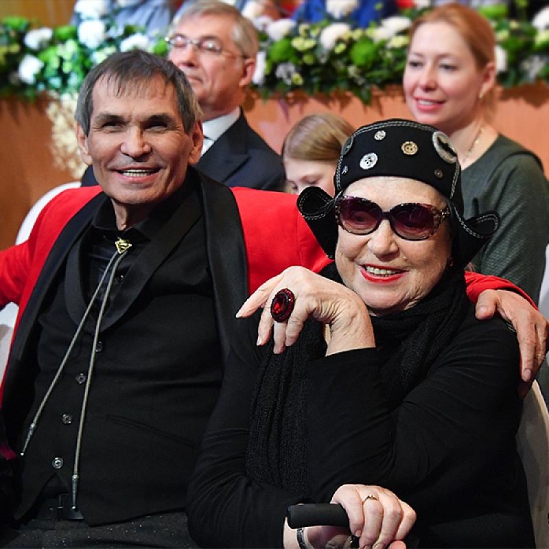 Известната руска актриса Лидия Федосеева-Шукшина се омъжи за музикалния продуцент