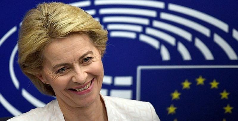 Новият председател на Европейската комисия Урсула фон дер Лайен има