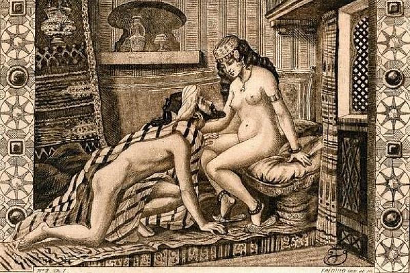 порно рисунки древний мир