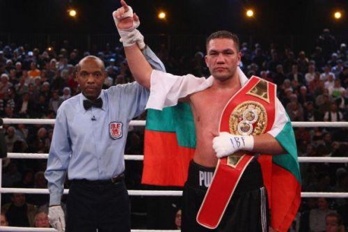 Българският боксьор в тежка категория при професионалистите Кубрат Пулев ще