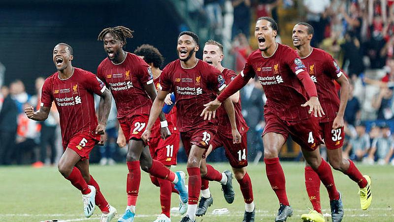"""Ливърпул"""" спечели четвъртата Суперкупа на Европа в историята си, след"""